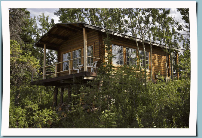 Wilderness cabin rental at Kluane National Park