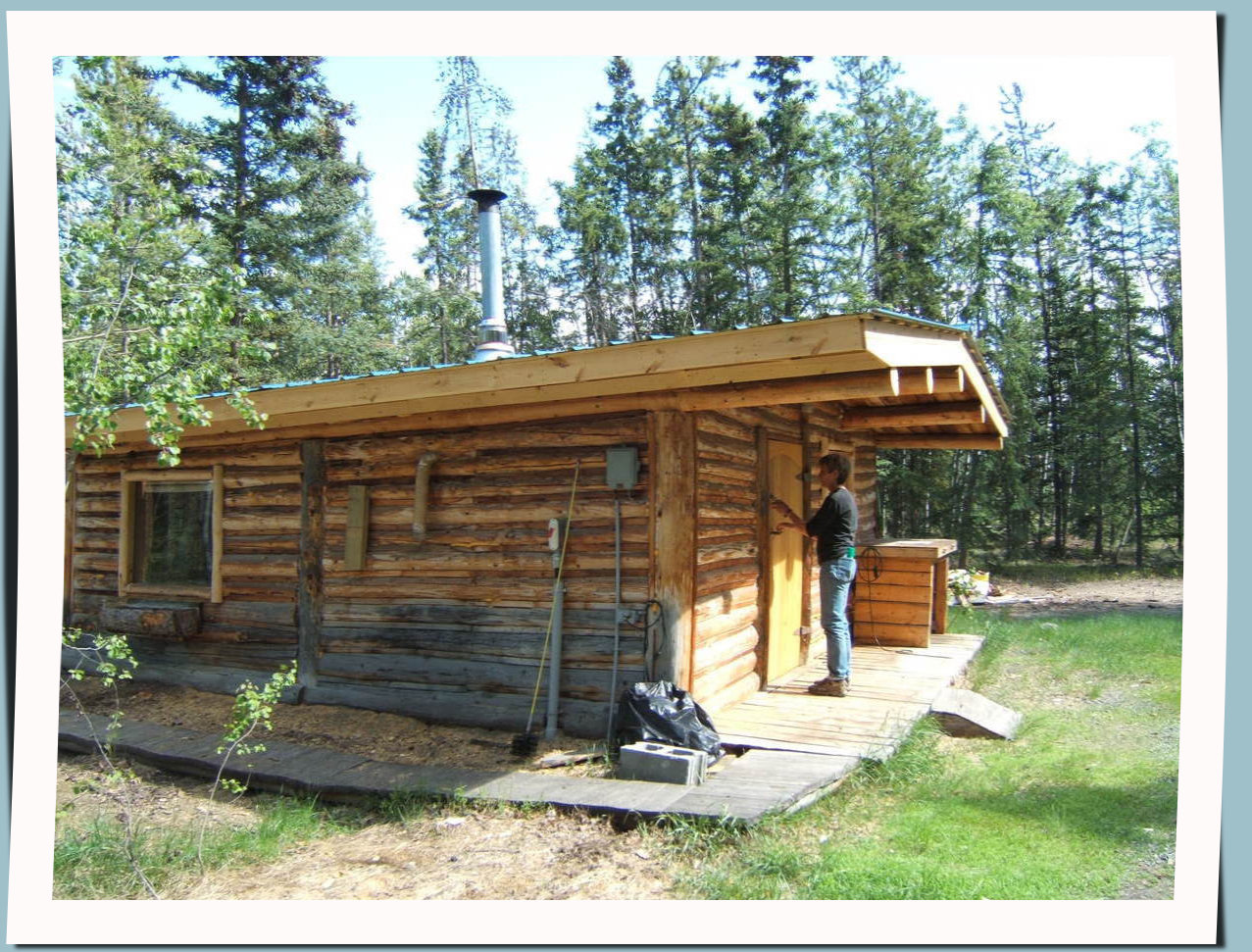 Remote cabin plans joy studio design gallery best design for Wilderness cabin plans